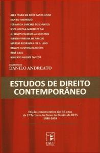 Capa. Estudos de Direito Contemporâneo