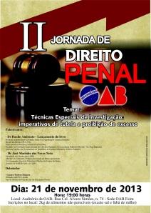 II Jornada Direito Penal. OAB Feira. 21.nov.2013