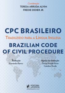 capa. CPC brasileiro traduzido para a língua inglesa